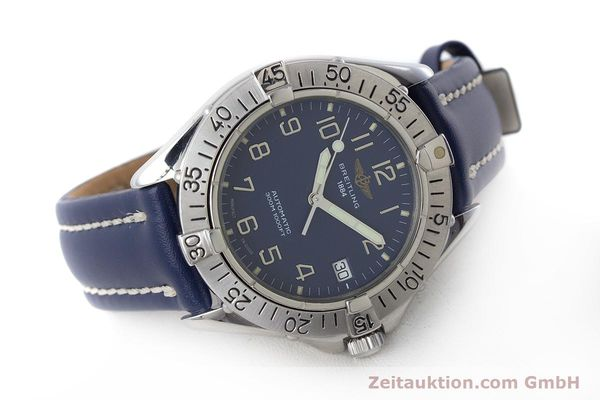 Used luxury watch Breitling Colt steel automatic Kal. B17 ETA 2824-2 Ref. A17035  | 160880 03