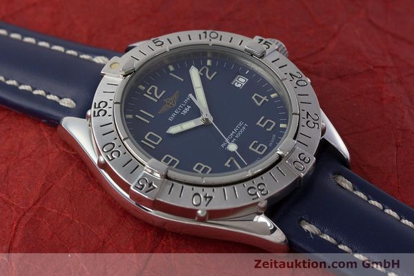 Used luxury watch Breitling Colt steel automatic Kal. B17 ETA 2824-2 Ref. A17035  | 160880 15