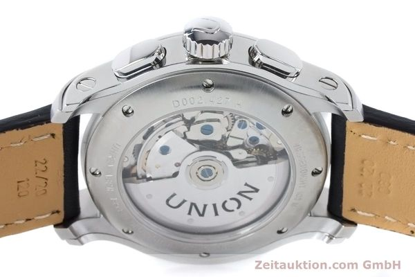 Used luxury watch Union Glashütte Belisar chronograph steel automatic Kal. U7753 ETA 7753 Ref. D002.427A  | 160882 10