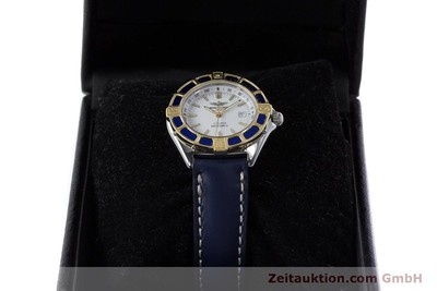 BREITLING LADY J CLASS STAHL / GOLD DAMENUHR TOP D52065 VP: 2290,- EURO [160884]