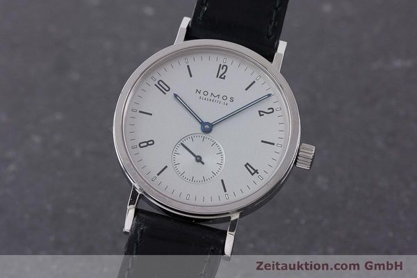 NOMOS TANGENTE SPORT STEEL MANUAL WINDING KAL. ETA 7001 LP: 1420EUR [160889]