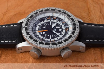 FORTIS B 47 CALCULATOR GMT AUTOMATIK HERRENUHR 3 ZONEN STAHL LP: 2870,- Euro [160890]