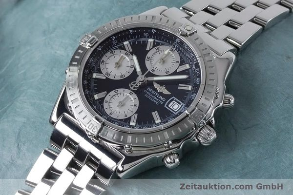 Used luxury watch Breitling Chronomat chronograph steel automatic Kal. B13 ETA 7750 Ref. A13352  | 160891 01