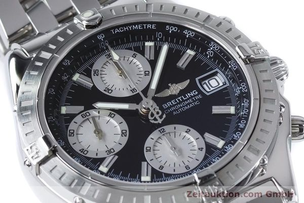 Used luxury watch Breitling Chronomat chronograph steel automatic Kal. B13 ETA 7750 Ref. A13352  | 160891 02