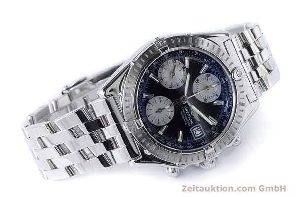 Used luxury watch Breitling Chronomat chronograph steel automatic Kal. B13 ETA 7750 Ref. A13352  | 160891 03