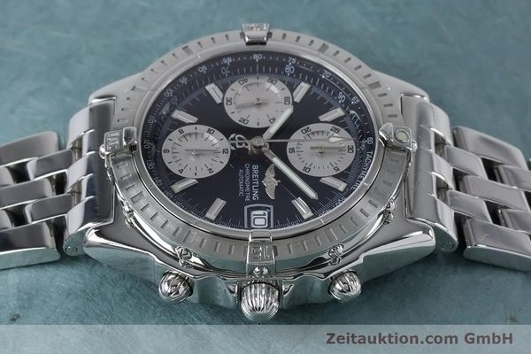 Used luxury watch Breitling Chronomat chronograph steel automatic Kal. B13 ETA 7750 Ref. A13352  | 160891 05