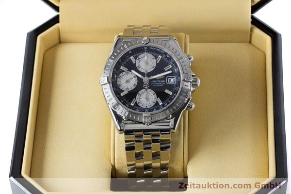 Used luxury watch Breitling Chronomat chronograph steel automatic Kal. B13 ETA 7750 Ref. A13352  | 160891 07
