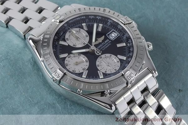 Used luxury watch Breitling Chronomat chronograph steel automatic Kal. B13 ETA 7750 Ref. A13352  | 160891 17