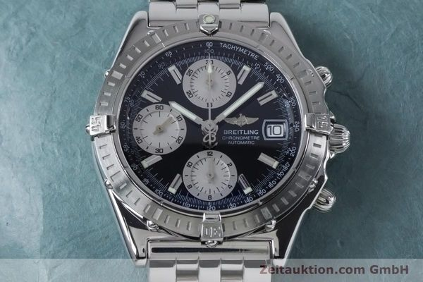 Used luxury watch Breitling Chronomat chronograph steel automatic Kal. B13 ETA 7750 Ref. A13352  | 160891 18