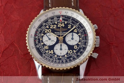 BREITLING NAVITIMER CHRONOGRAPH STEEL / GOLD MANUAL WINDING KAL. LEMANIA 24 [160892]