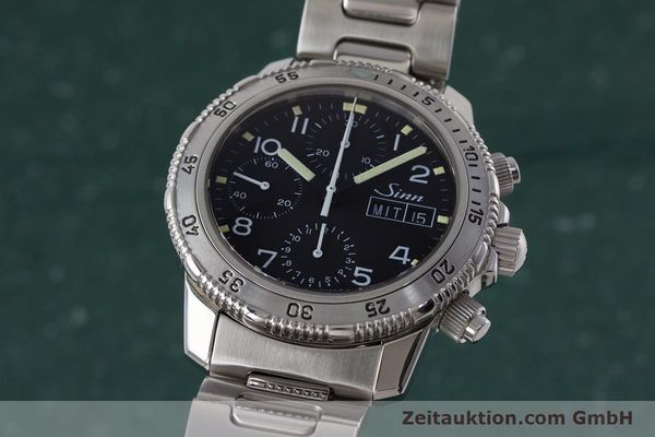 Used luxury watch Sinn 103 ST chronograph steel automatic Kal. ETA 7750 Ref. 103.0865  | 160894 04