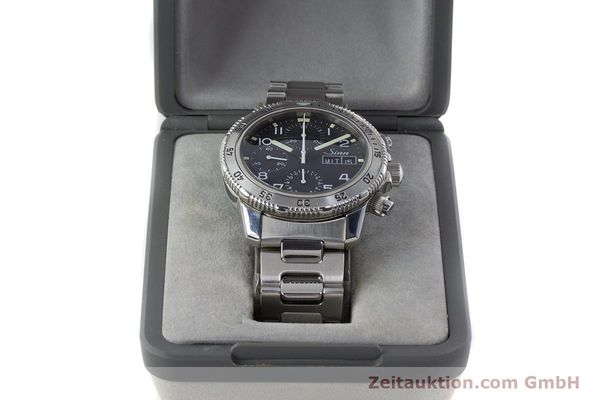 Used luxury watch Sinn 103 ST chronograph steel automatic Kal. ETA 7750 Ref. 103.0865  | 160894 07