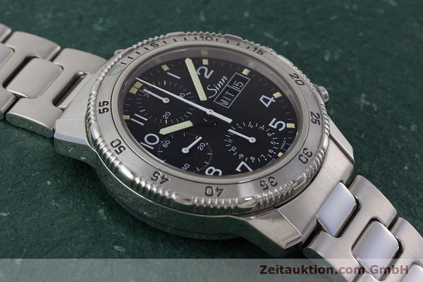 Used luxury watch Sinn 103 ST chronograph steel automatic Kal. ETA 7750 Ref. 103.0865  | 160894 13