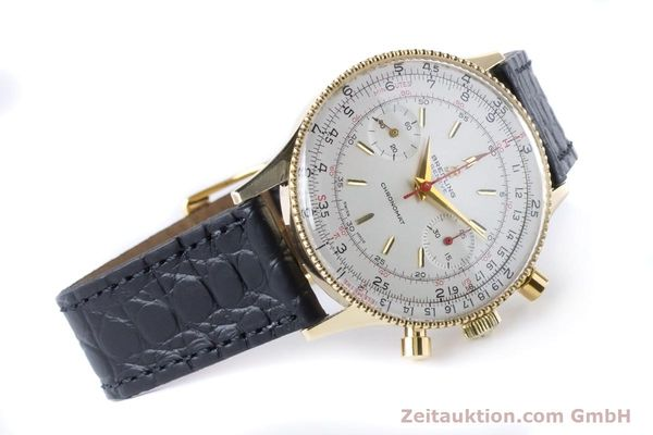 Used luxury watch Breitling Chronomat chronograph 18 ct gold manual winding Kal. Venus 175 Ref. 808 VINTAGE  | 160895 03