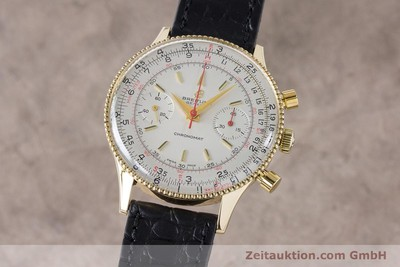 BREITLING CHRONOMAT CHRONOGRAPH 18 CT GOLD MANUAL WINDING KAL. VENUS 175 VINTAGE [160895]