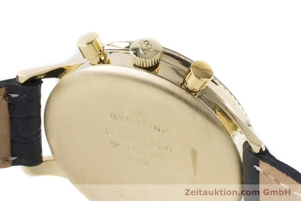 Used luxury watch Breitling Chronomat chronograph 18 ct gold manual winding Kal. Venus 175 Ref. 808 VINTAGE  | 160895 08