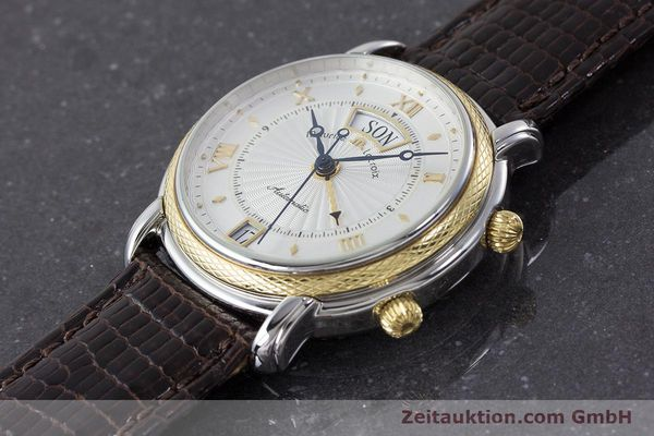 Used luxury watch Maurice Lacroix Reveil steel / gold automatic Kal. ML20 AS5008 Ref. 20584  | 160897 01