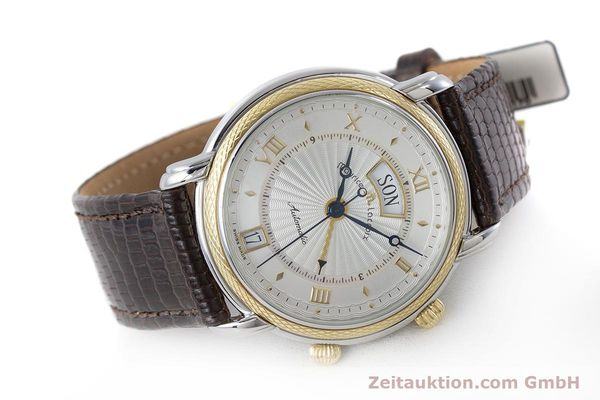 Used luxury watch Maurice Lacroix Reveil steel / gold automatic Kal. ML20 AS5008 Ref. 20584  | 160897 03