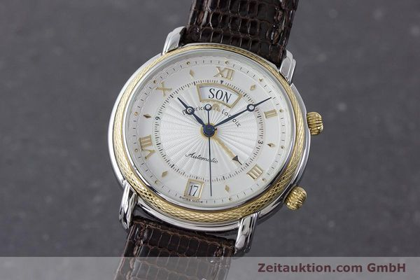 Used luxury watch Maurice Lacroix Reveil steel / gold automatic Kal. ML20 AS5008 Ref. 20584  | 160897 04