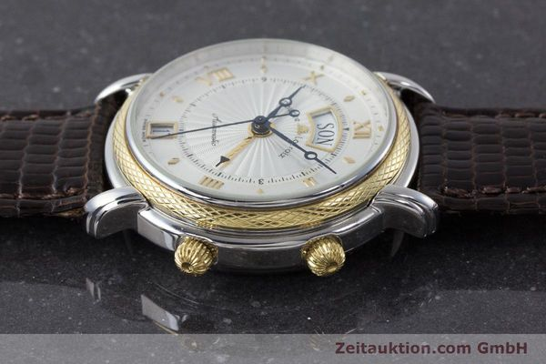 Used luxury watch Maurice Lacroix Reveil steel / gold automatic Kal. ML20 AS5008 Ref. 20584  | 160897 05
