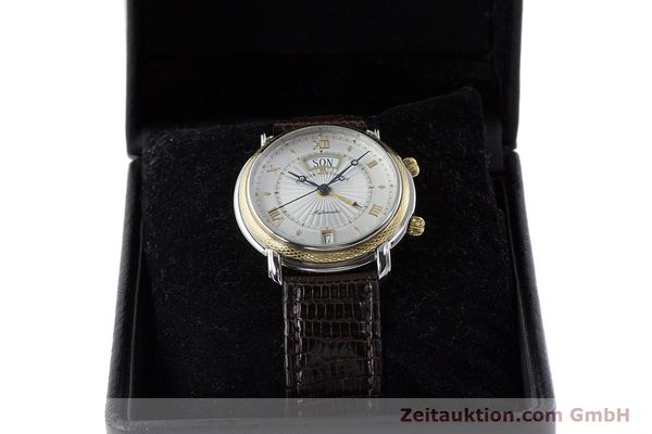 Used luxury watch Maurice Lacroix Reveil steel / gold automatic Kal. ML20 AS5008 Ref. 20584  | 160897 07