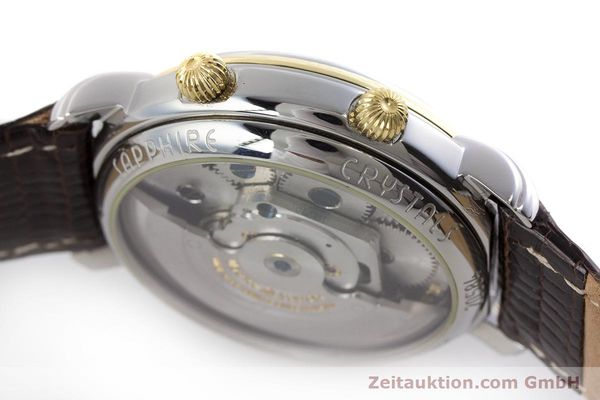 Used luxury watch Maurice Lacroix Reveil steel / gold automatic Kal. ML20 AS5008 Ref. 20584  | 160897 08