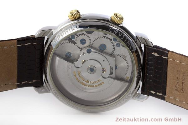 Used luxury watch Maurice Lacroix Reveil steel / gold automatic Kal. ML20 AS5008 Ref. 20584  | 160897 09