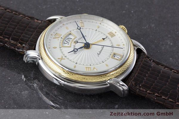 Used luxury watch Maurice Lacroix Reveil steel / gold automatic Kal. ML20 AS5008 Ref. 20584  | 160897 12