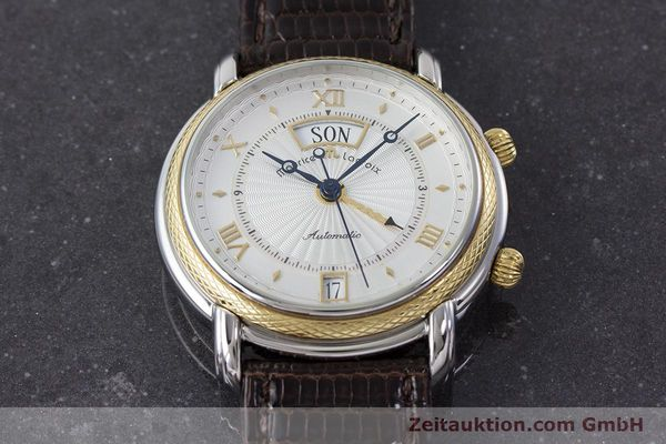 Used luxury watch Maurice Lacroix Reveil steel / gold automatic Kal. ML20 AS5008 Ref. 20584  | 160897 13
