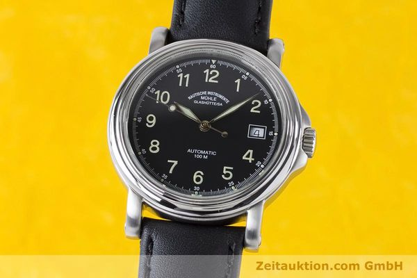 MÜHLE CITY-AUTOMATIC-XIII ACIER AUTOMATIQUE KAL. ETA 2824-2 LP: 1200EUR [160901]