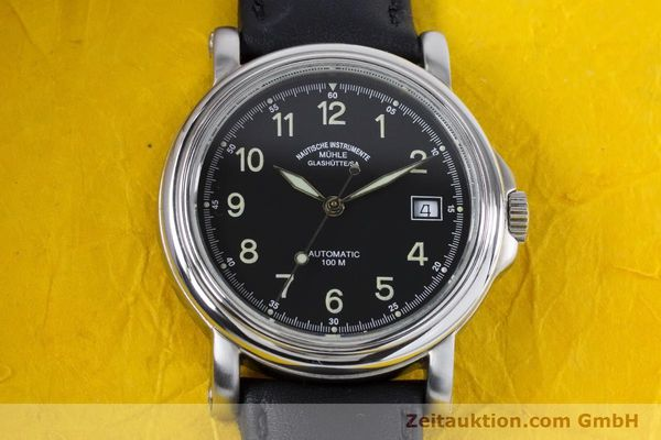 Used luxury watch Mühle City-Automatic-XIII steel automatic Kal. ETA 2824-2 Ref. M1-24-00  | 160901 15