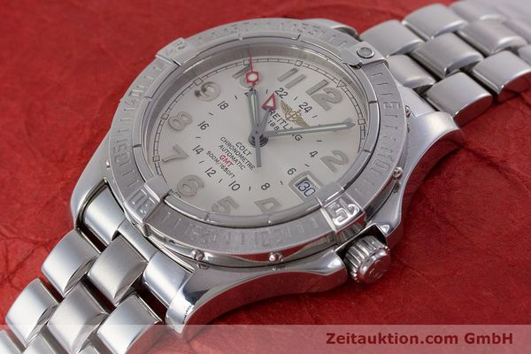 Used luxury watch Breitling Colt steel automatic Kal. B32 ETA 2893-2 Ref. A32350  | 160907 01