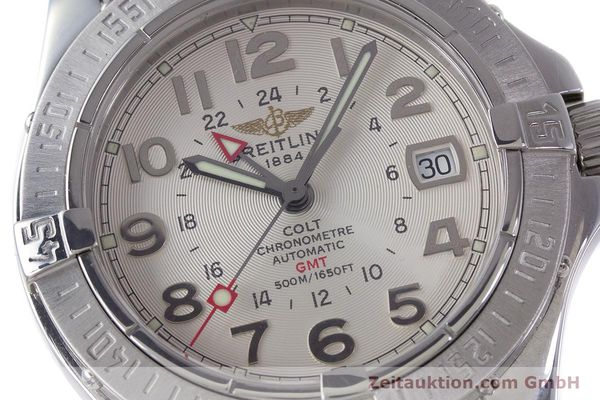 Used luxury watch Breitling Colt steel automatic Kal. B32 ETA 2893-2 Ref. A32350  | 160907 02
