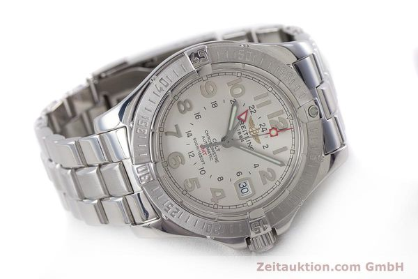 Used luxury watch Breitling Colt steel automatic Kal. B32 ETA 2893-2 Ref. A32350  | 160907 03