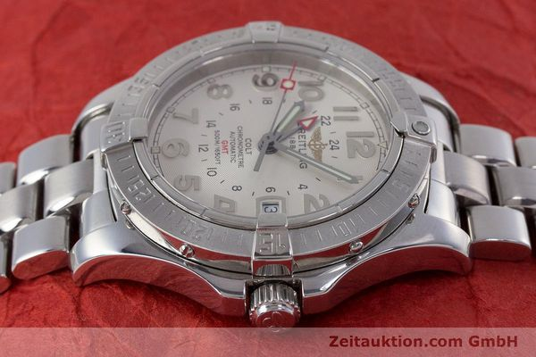 Used luxury watch Breitling Colt steel automatic Kal. B32 ETA 2893-2 Ref. A32350  | 160907 05
