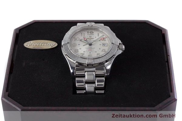 Used luxury watch Breitling Colt steel automatic Kal. B32 ETA 2893-2 Ref. A32350  | 160907 07