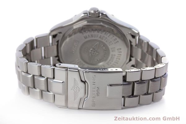 Used luxury watch Breitling Colt steel automatic Kal. B32 ETA 2893-2 Ref. A32350  | 160907 12