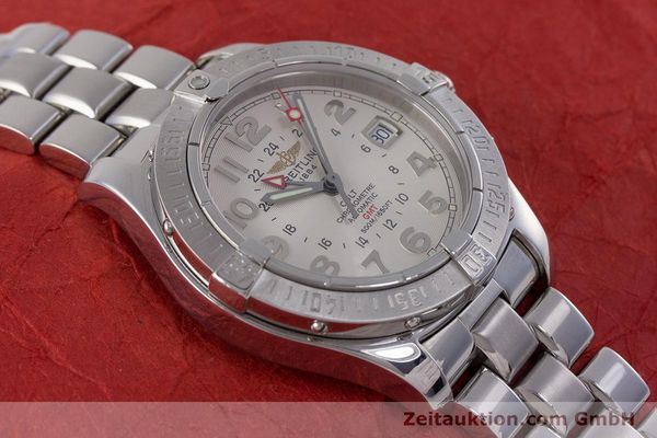 Used luxury watch Breitling Colt steel automatic Kal. B32 ETA 2893-2 Ref. A32350  | 160907 17