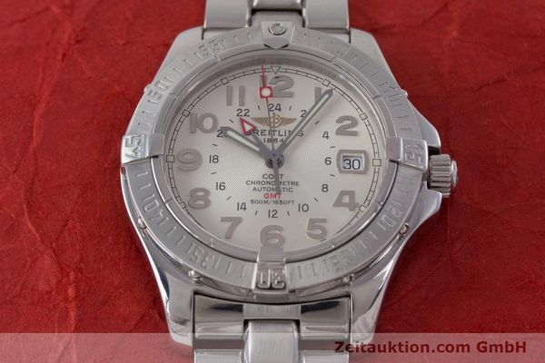 Used luxury watch Breitling Colt steel automatic Kal. B32 ETA 2893-2 Ref. A32350  | 160907 18