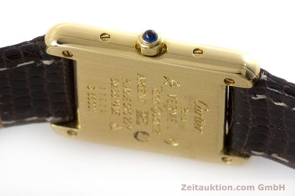 Used luxury watch Cartier Tank silver-gilt quartz Kal. 66  | 160909 08
