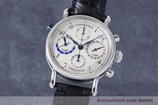 CHRONOSWISS TORA CHRONOGRAPHE ACIER AUTOMATIQUE KAL. 743 LP: 6800EUR [160917]