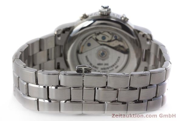 Used luxury watch Montblanc Meisterstück chronograph steel automatic Kal. 4810501 ETA 7750 Ref. 7016  | 160920 12