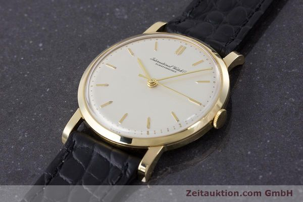 Used luxury watch IWC Portofino 18 ct gold manual winding Kal. 401 Ref. 1205 VINTAGE  | 160923 01