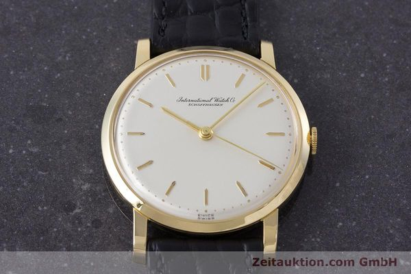 Used luxury watch IWC Portofino 18 ct gold manual winding Kal. 401 Ref. 1205 VINTAGE  | 160923 14