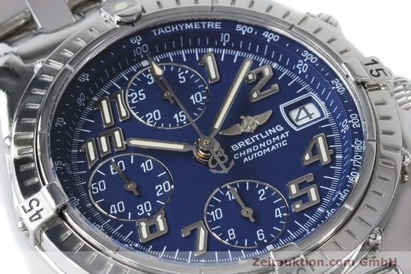 Used luxury watch Breitling Chronomat chronograph steel automatic Kal. B13 ETA 7750 Ref. A13050.1  | 160929 02