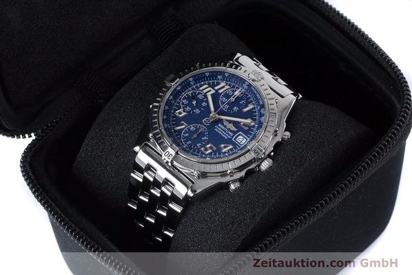 Used luxury watch Breitling Chronomat chronograph steel automatic Kal. B13 ETA 7750 Ref. A13050.1  | 160929 07
