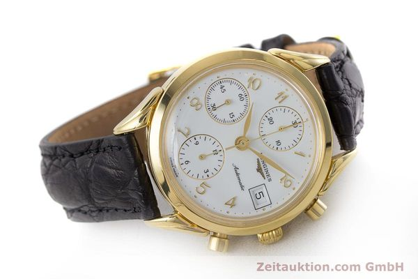 Used luxury watch Longines * chronograph gold-plated automatic Kal. L674.2 ETA 7750 Ref. L4.642.2  | 160931 03