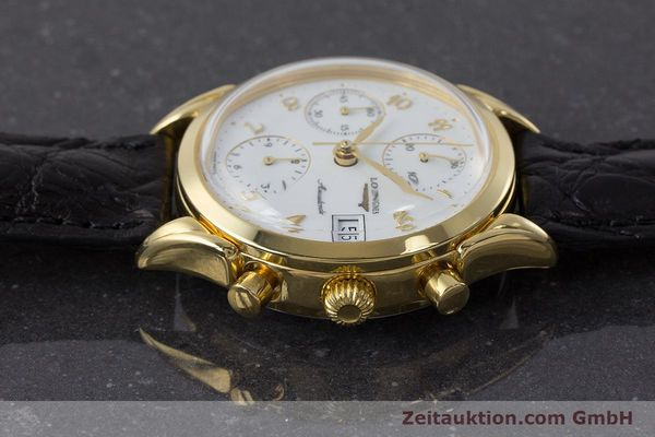 Used luxury watch Longines * chronograph gold-plated automatic Kal. L674.2 ETA 7750 Ref. L4.642.2  | 160931 05