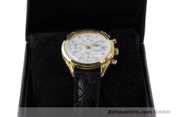 Used luxury watch Longines * chronograph gold-plated automatic Kal. L674.2 ETA 7750 Ref. L4.642.2  | 160931 07