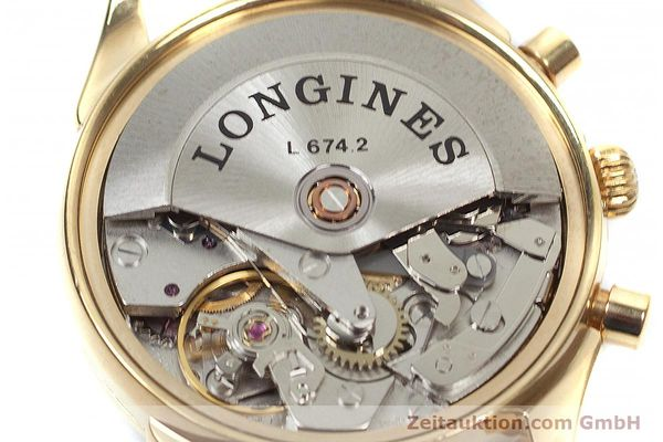 Used luxury watch Longines * chronograph gold-plated automatic Kal. L674.2 ETA 7750 Ref. L4.642.2  | 160931 10